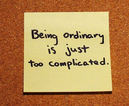 Being-Ordinary